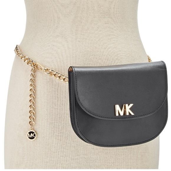 355faf6b88d4 FREE SHIPPING MK BLACK TURNLOCK FANNY PACK. Boutique. MICHAEL Michael Kors